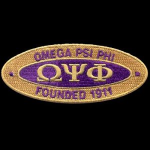 OPP 4″W Oval Founders Emblem W/Heat Seal Backing
