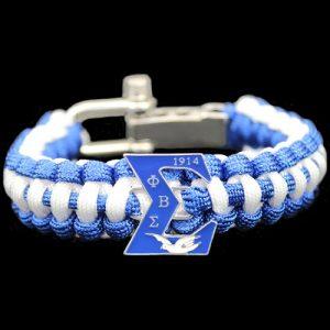 PBS Paracord Survival Bracelet W/Adjustable Clasp