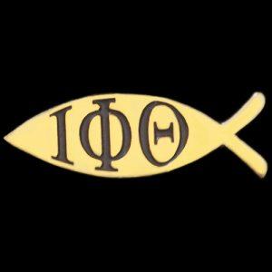 IPT 1″W Fish Lapel Pin
