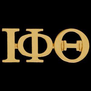 IPT 1″ Gold Letters Lapel Pin