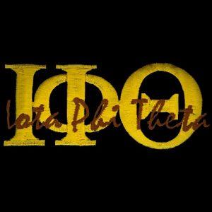 IPT 1 3/8″T Gold Signature Emblem W/Heat Seal Backing