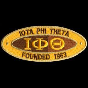 IPT 4″W Oval Founders Emblem W/Heat Seal Backing