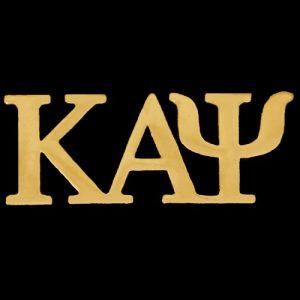 KAP 1″ Gold Letters Lapel Pin