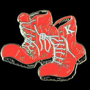 KAP Kappa Boots Lapel Pin 1″T x 1-1/2″