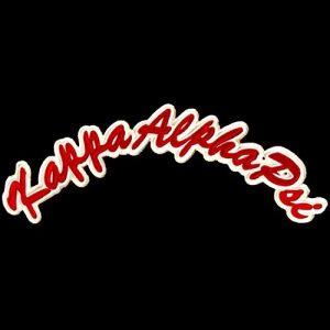 KAP Rocker Emblem R/W W/Heat Seal Backing