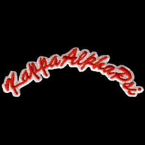 "KAP 3 1/2"" Rocker Emblem R/W W/Heat Seal Backing"