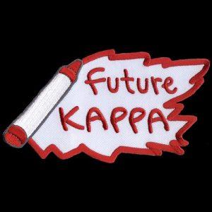 KAP 5″ W Future Emblem W/Heat Seal Backing