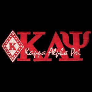"KAP 1 3/8"" Red New Image Diamond Emblem W/Heat Seal Backing"