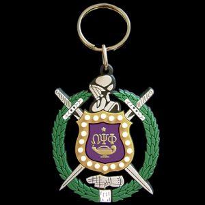 OPP PVC Crest Key Chain